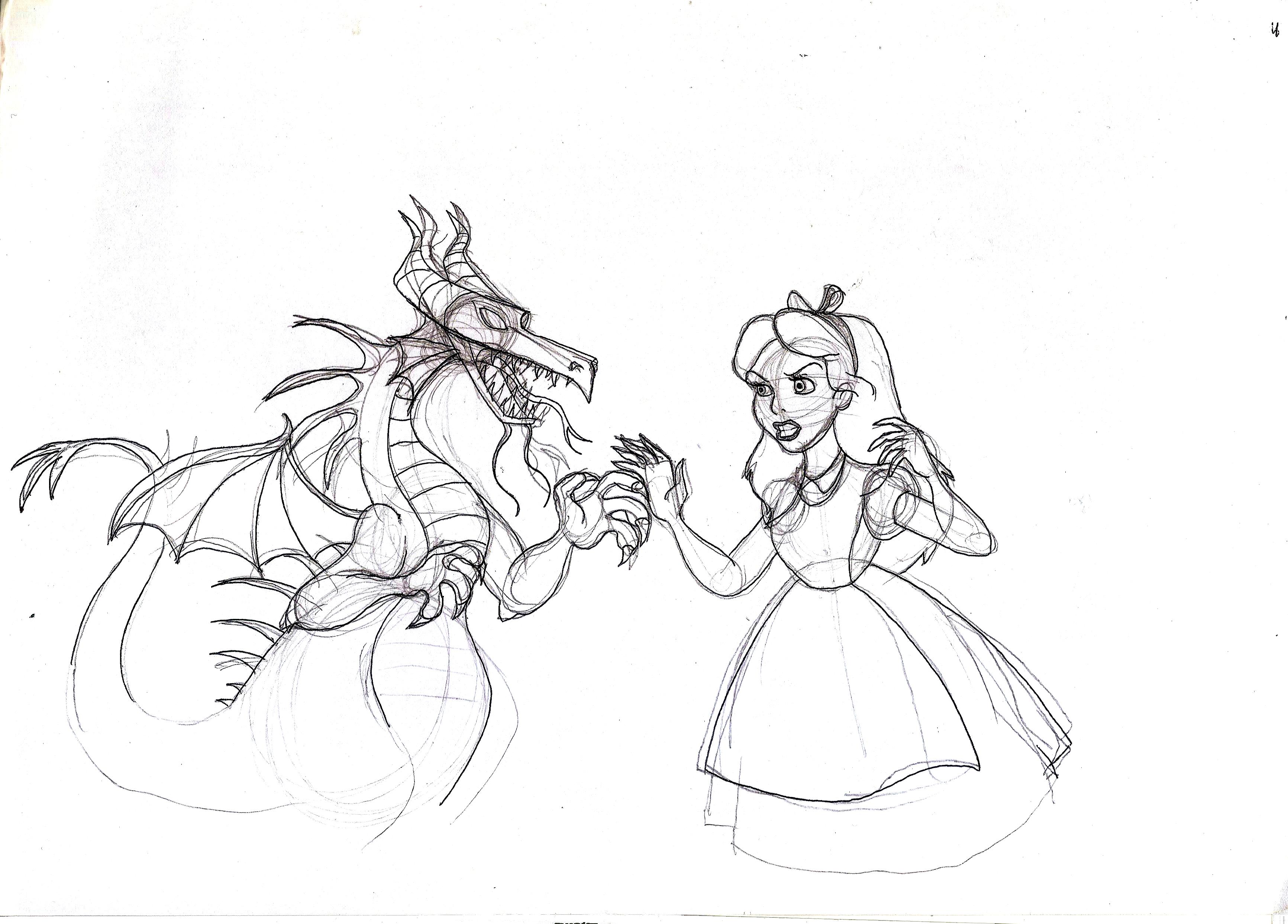 Alice vs Malefica
