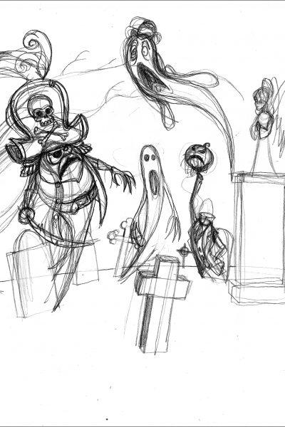 Cimitero fantasmi